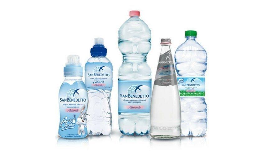 Acqua Minerale Italiana san Benedetto