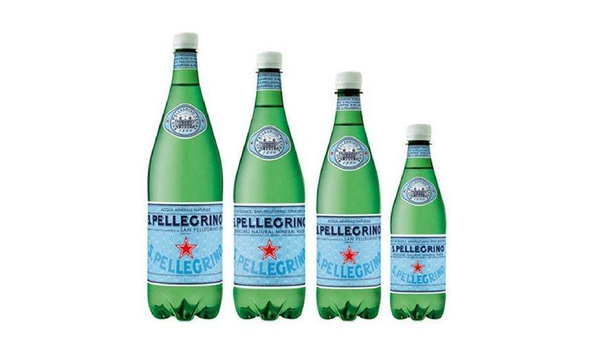 Acqua Minerale Italiana san pellegrino