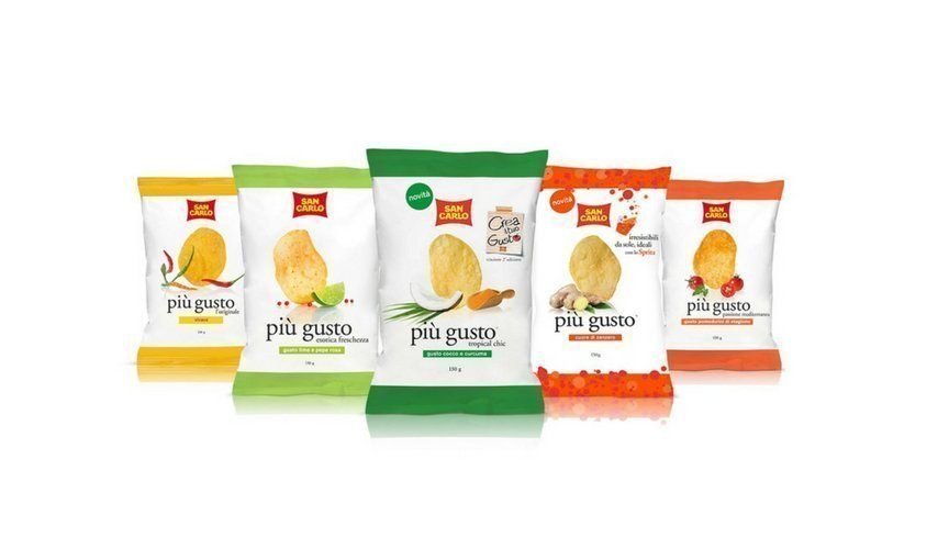 Patatine italiane i 5 migliori brand secondo bell italia for San carlo crea il tuo gusto