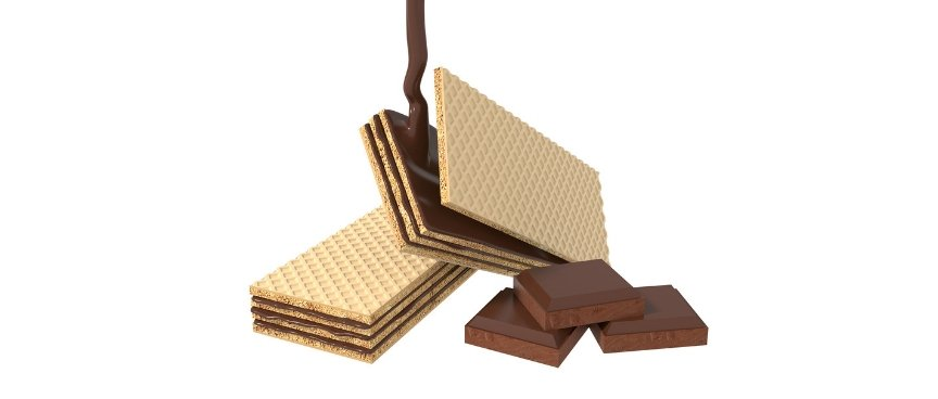 Wafer the sweet snack that never gets olds