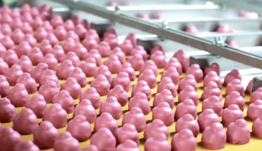produzione BACI ROSA PERUGINA bell italia import export prodotti italiani