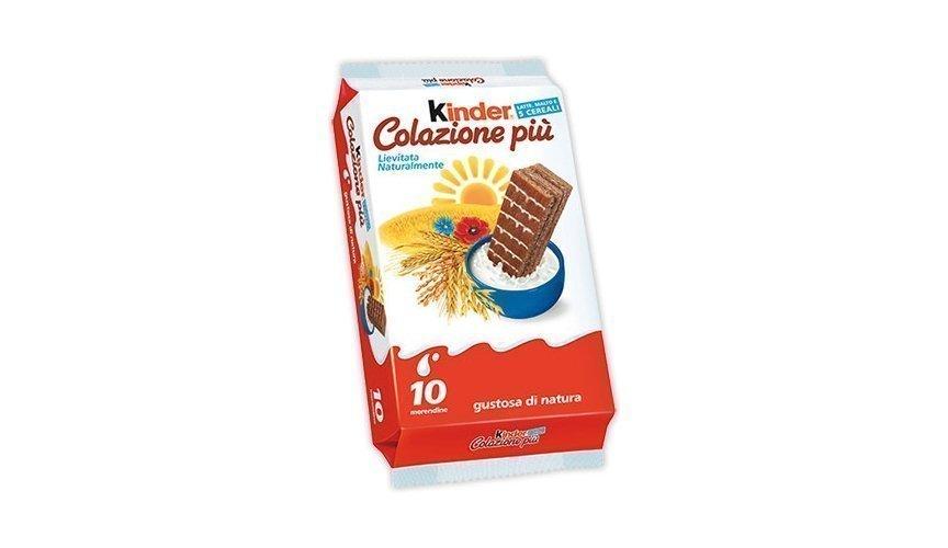5 prodotti Ferrero più richiesti Kinder Colazione più