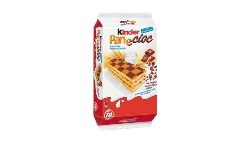 5 prodotti Ferrero più richiesti Kinder Pan e Cioc