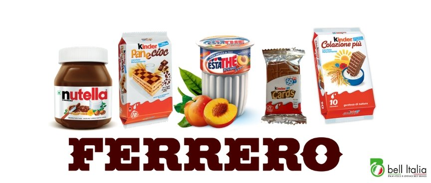 Not only Nutella: the 5 most-requested Ferrero products by Bell Italia's customer