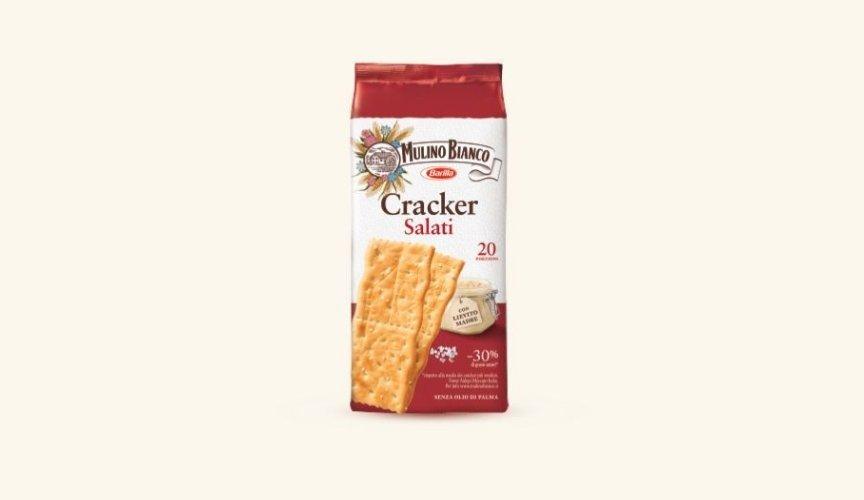 prodotti Mulino Bianco più conosciuti all'estero crackers sfoglia di grano