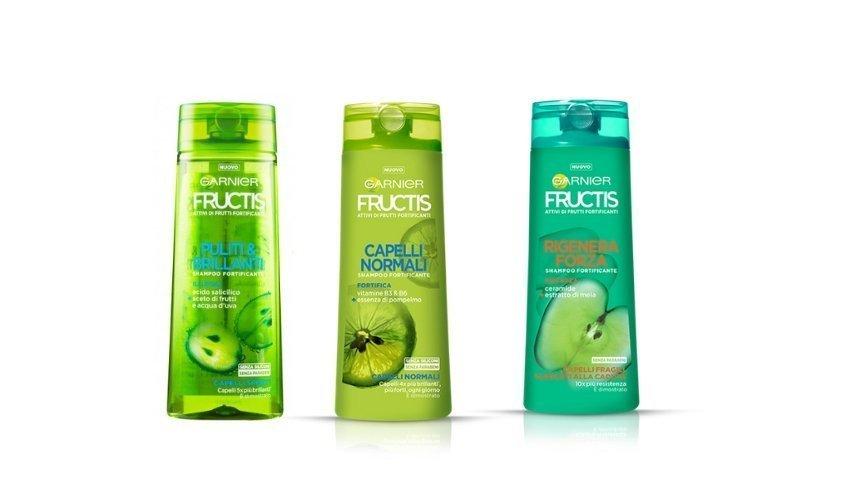 Brand internazionali Fructis Shampoo