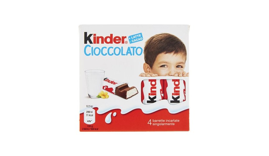 cioccolate italiane più vendute bell italia kinder cioccolato