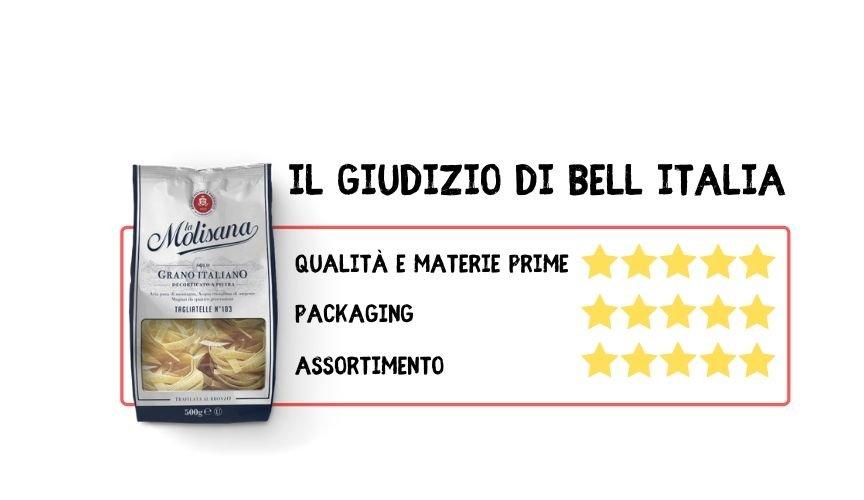 3 brand italiani di Pasta La Molisana