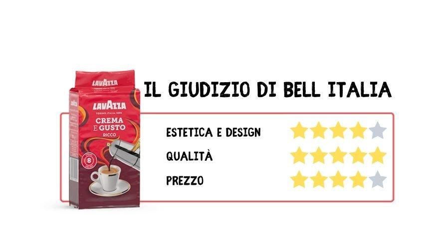 Preparare un ottimo caffè italiano Lavazza crema e gusto