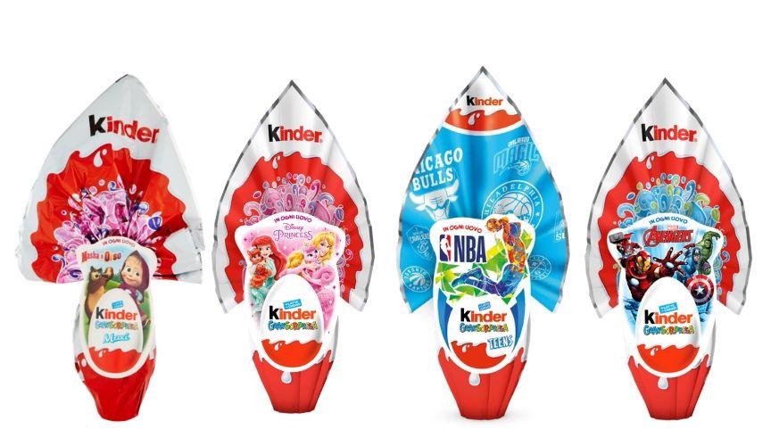 5 prodotti italiani per la Pasqua kinder gransorpresa
