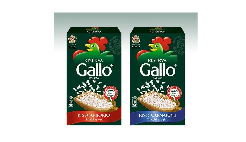 riso italiano bell italia gallo