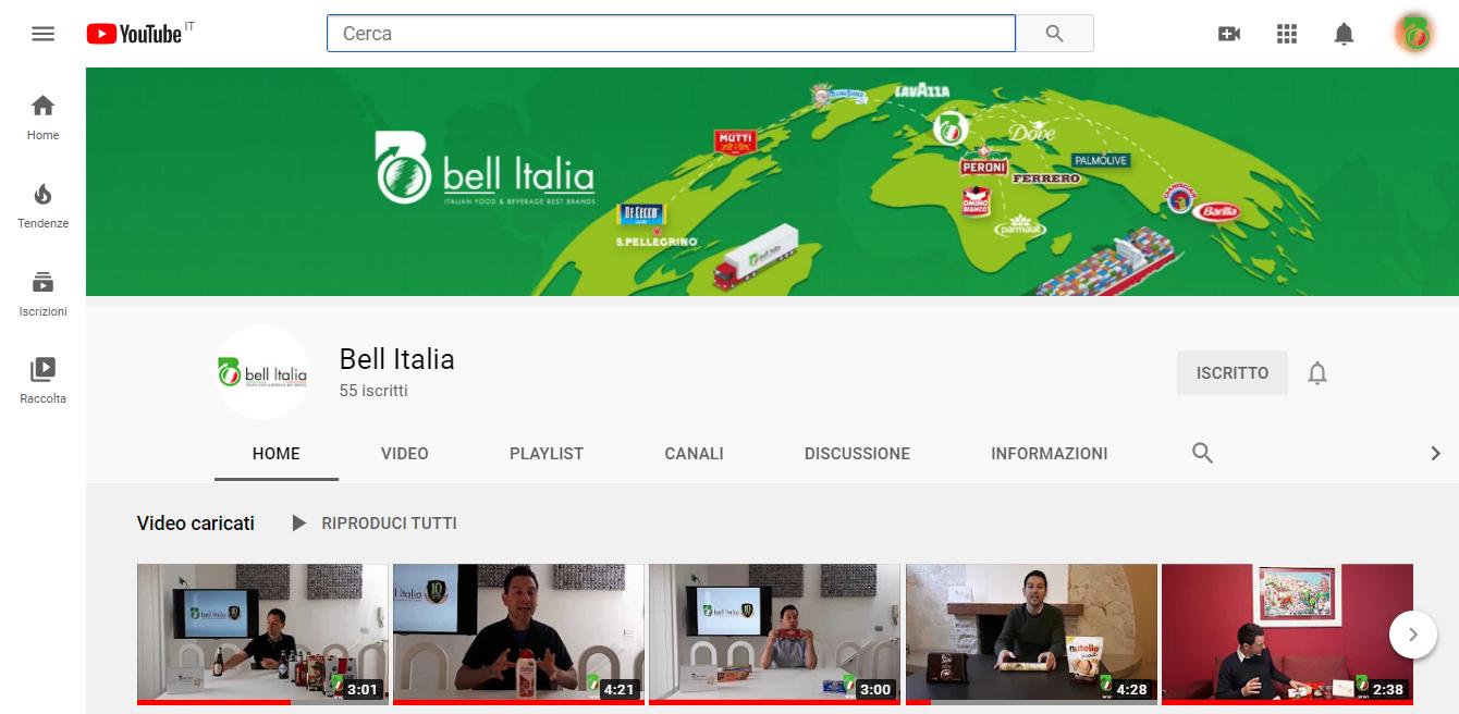 bell italia su instagram profilo