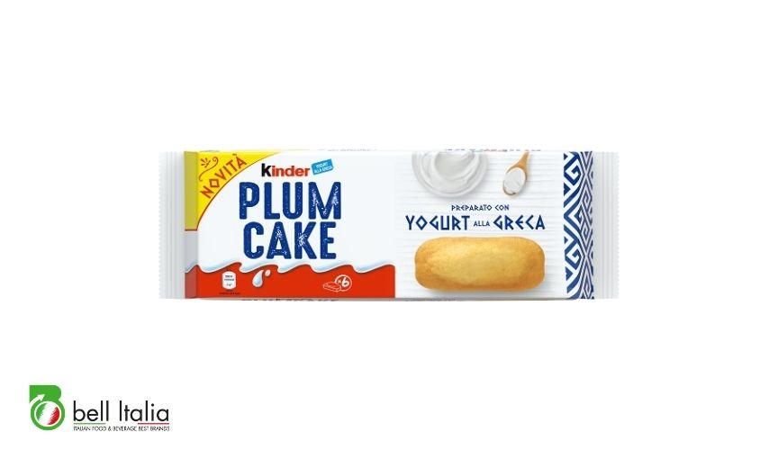 snack dolci italiani kinder plum cake bell italia