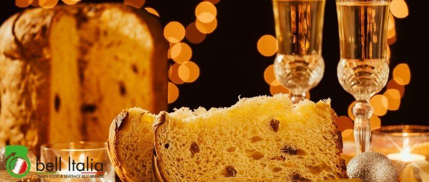 Panettone più spumante 5 proposte per il tuo supermercato all'estero bell italia