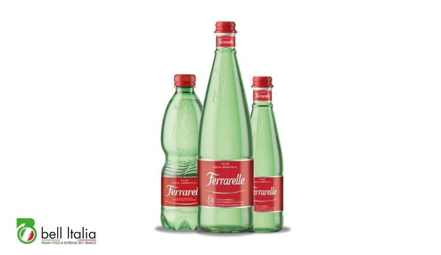 Italian sparkling mineral water Bell Italia srl