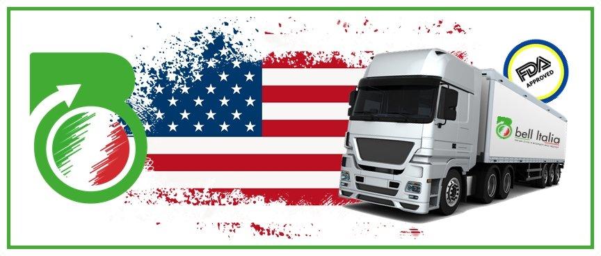 Esport prodotti italiani negli USA - Certificazione FDA - Bell Italia