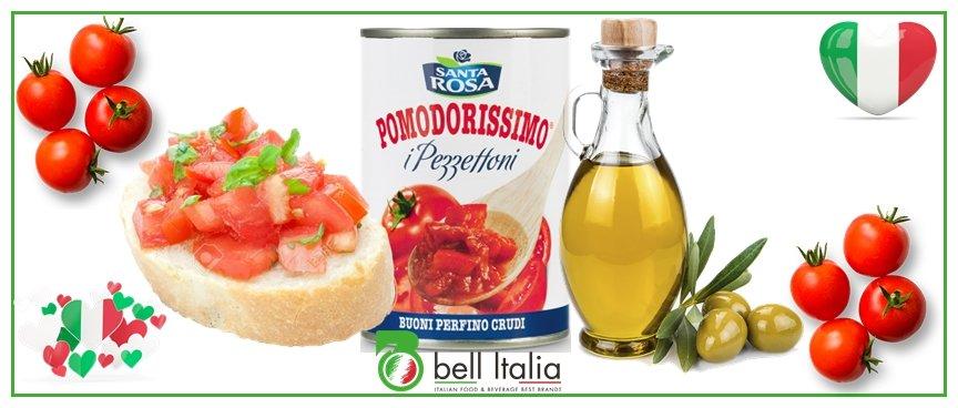 pulpa de tomate italiana - bell italia srl