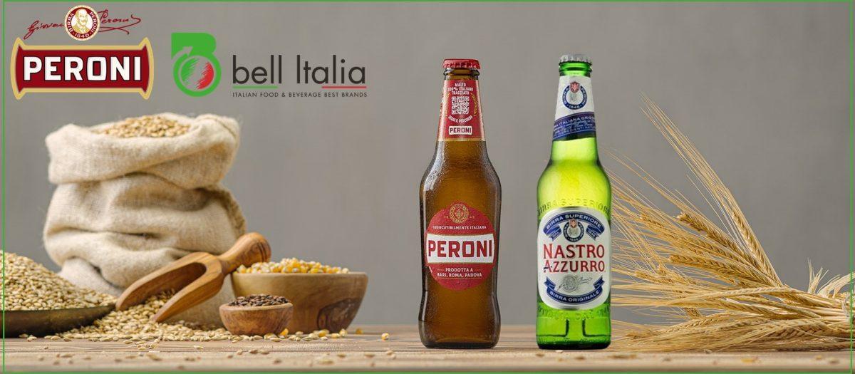 Birre italiane di successo nel mondo: Peroni e Nastro Azzurro - Bell Italia srl