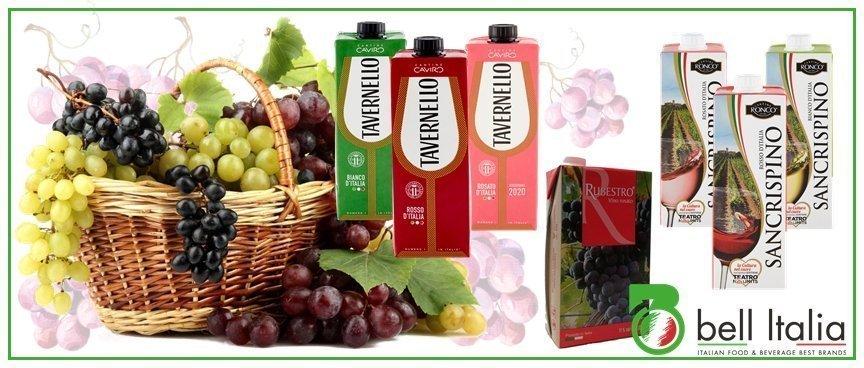 vino de cartón italiano - Bell Italia srl