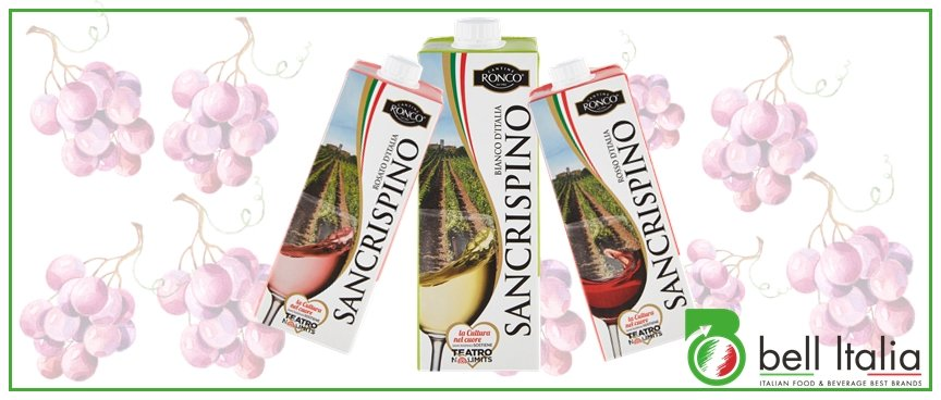 Vino italiano in brik - Bell Italia srl - Ronco San Crispino