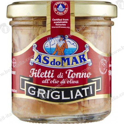AS DO MAR FIL.TONNO GRIGL. O.O.150G