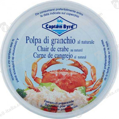 CAPITAN BYRD POLPA DI GRANCHIO 200G