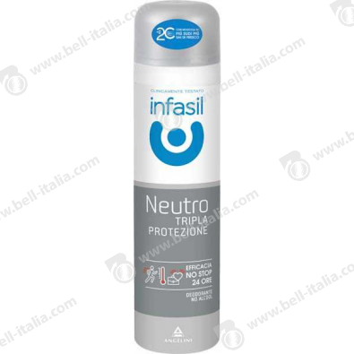 INFASIL DEO SPRAY TRIPLE PROTECTION ML.150