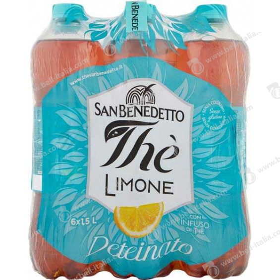 SAN BENEDETTO LT.1,5 THE LIMONE DETEINATO