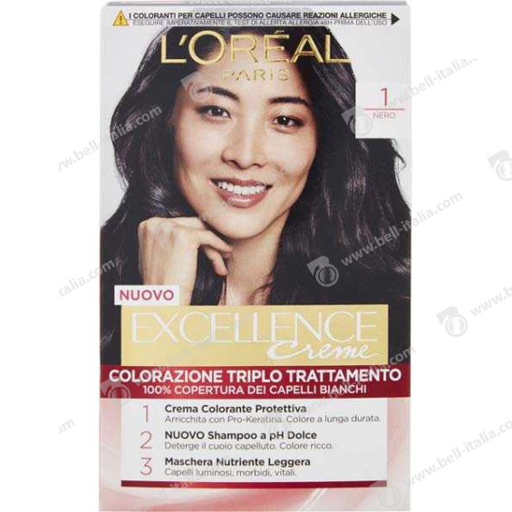 EXCELLENCE L'OREAL NERO N1