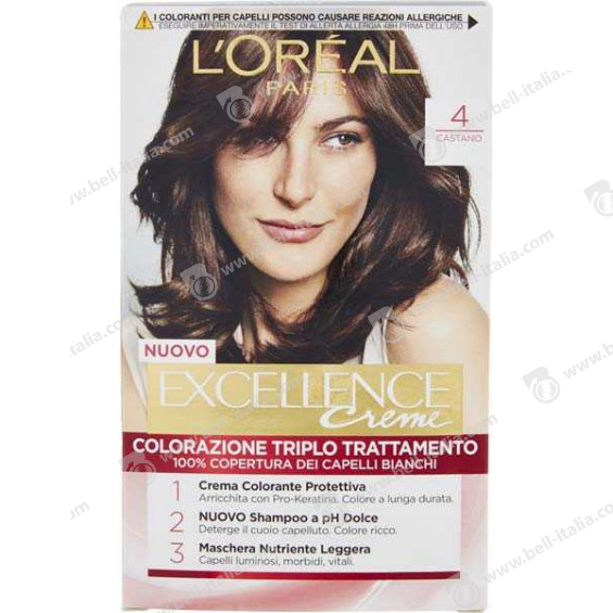 EXCELLENCE L'OREAL CASTANO N4