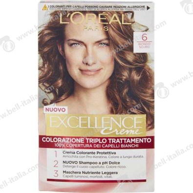 EXCELLENCE L'OREAL BIO/SCU N6
