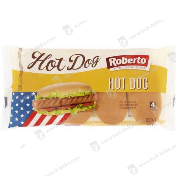 ROBERTO GR.250 PANE HOT DOG