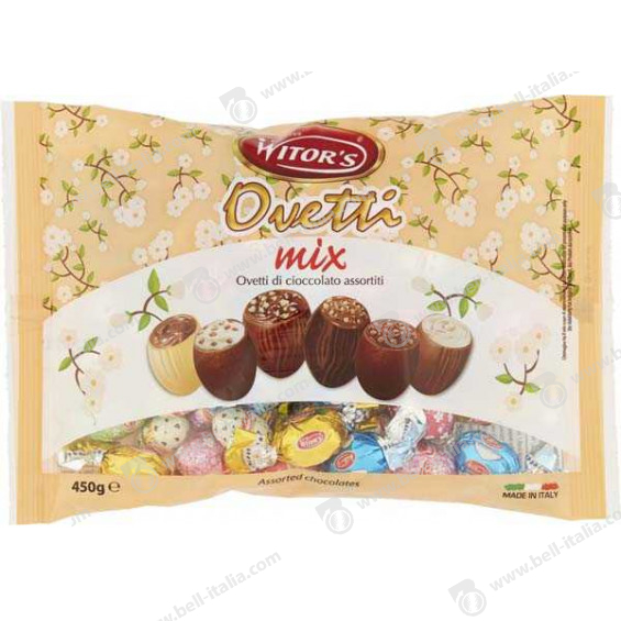WITOR'S OVETTI MIX ASS.450GR.
