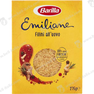 BARILLA GR.250 EMILIANE FILINI ALL'UOVO N.14