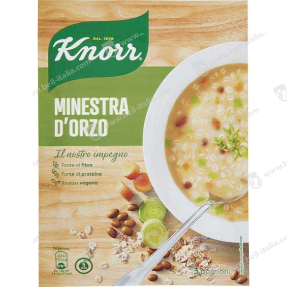 KNORR MINESTRA D'ORZO GR.150
