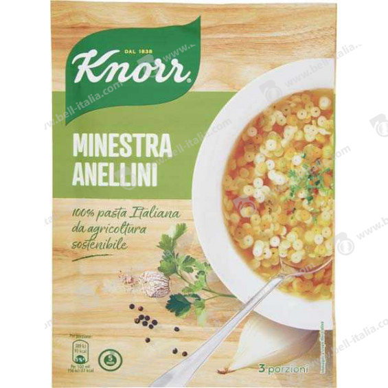 KNORR MINESTRA ANELLINI GR.83